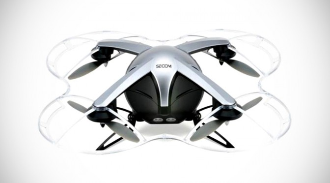 SECOM Security Drone