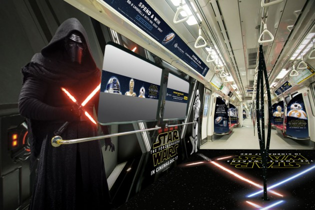 SMRT Star Wars-themed Trains