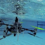 Rutgers University's Drone Can Fly In The Air And Dive Underwater