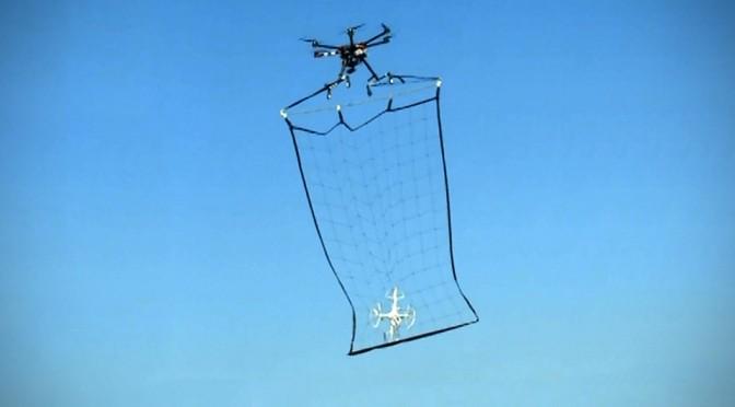 Tokyo Metropolitan Police Drones with Nets
