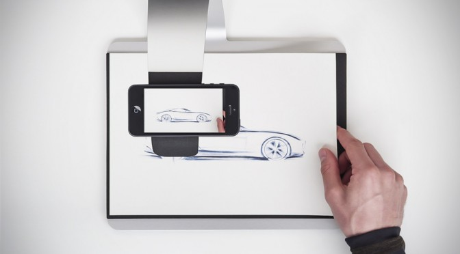 scanPAD Is A Big-Ass Stand That Turns Your Smartphone Into A Scanner