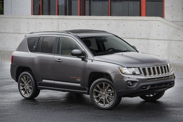 2016 Jeep Compass 75th Anniversary edition