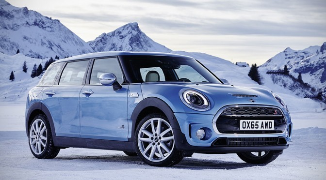 2016 MINI Clubman Now Comes In All-Wheel Drive