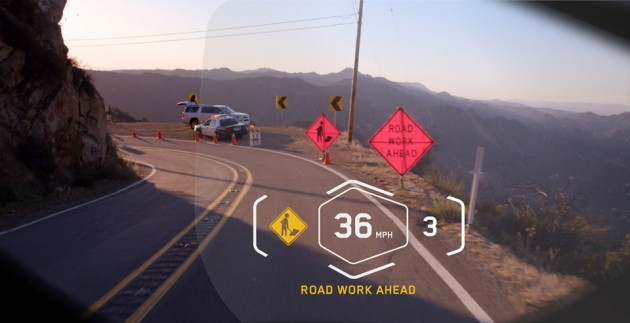 BMW Head-up Display Helmet