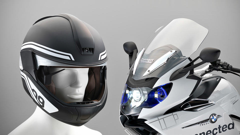 BMW Brings Concept Motorcycle With Laser Light And HUD ...