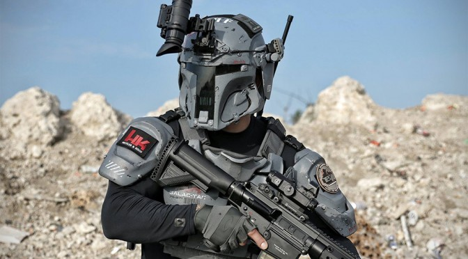 Boba Fett-Inspired Tactical Armor by AR500 Armor