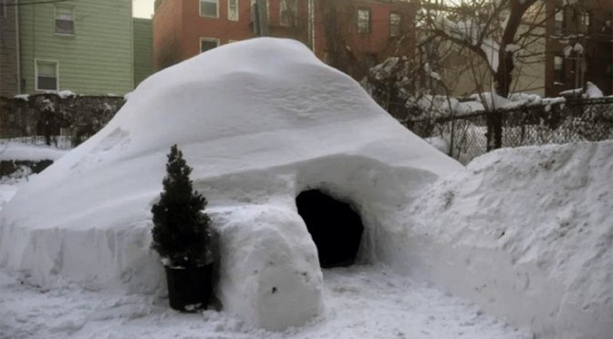 Airbnb Pulls Brooklyn Dude's $200 A Night 'Boutique Igloo' Listing