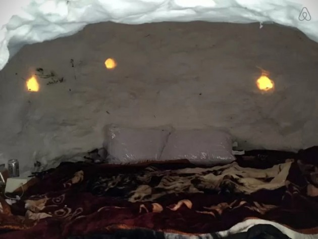 Boutique Winter Igloo For Two