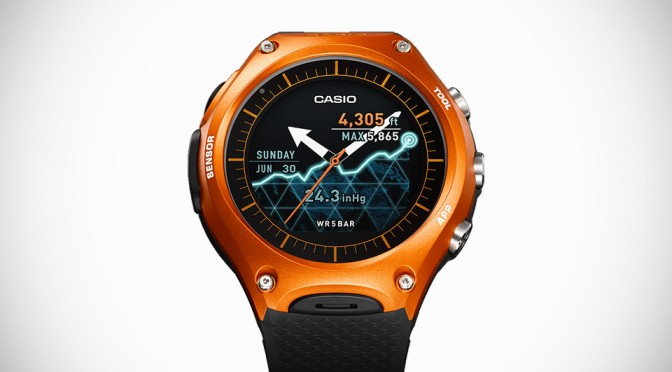 Thanks To Casio, The World Will Get Its First Rugged Smartwatch Soon