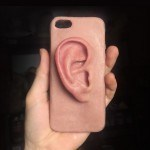 Artist Is Making Mobile Phone Cases With Hyperrealistic Ear Stuck On It
