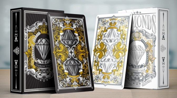 Meet The Most Luxurious Playing Cards That Are All Gold And Diamonds