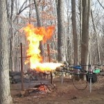 Drone With Flamethrower Roasts Holiday Turkey Like A Boss