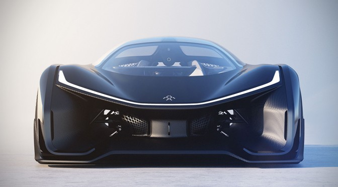 Mysterious Electric Car Startup Unveils FFZero1 Supercar At CES
