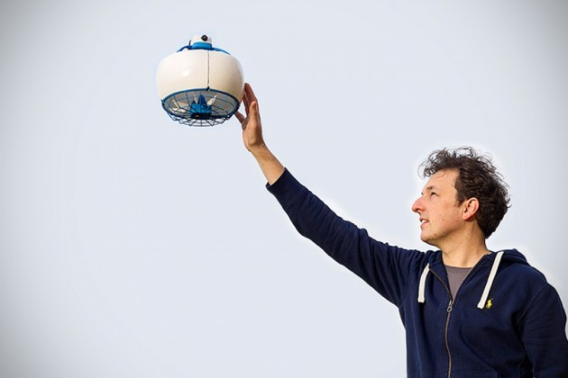 Ball Like Drone Does What Drones Do Best But It Won T