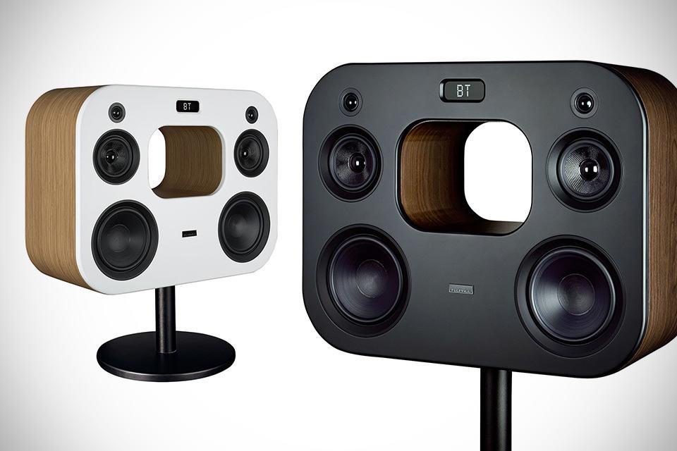 Fluance High Fidelity Floorstanding Wireless Speaker With