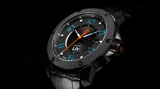 swiss jebiga silver blue black in a two liv on by orange genesis option and lifestyle design watches