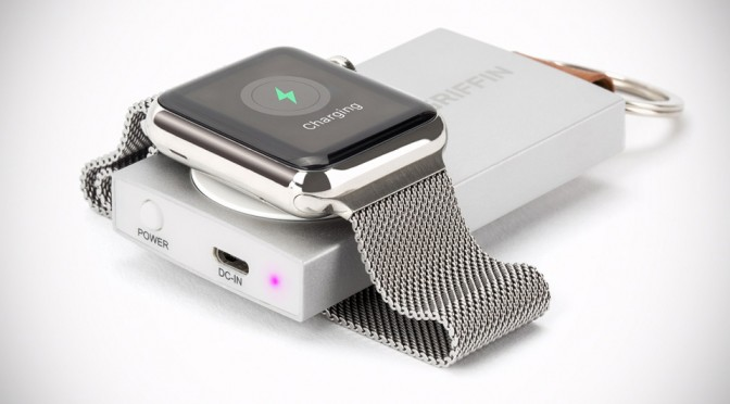 Griffin Outs Keychain-sized Travel Power Bank That Can Recharge Apple Watch Four Times