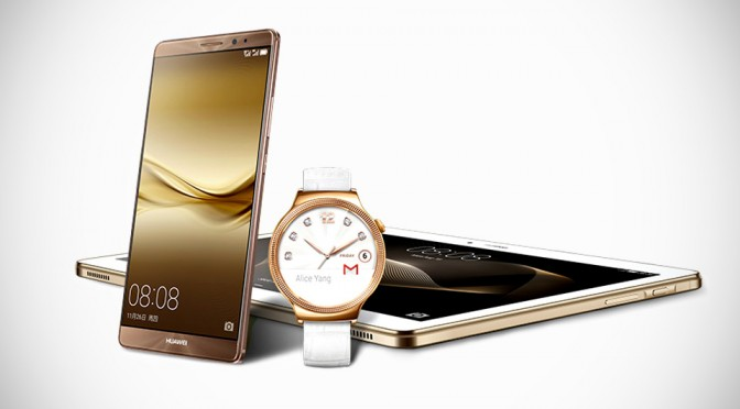 Huawei Unveils Smartwatch For Ladies, Premium Audio Tablet, Gold Nexus 6P And Mate 8 For The World