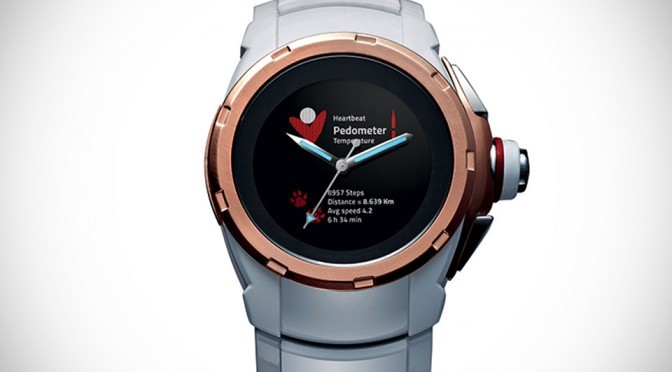 Hyetis Alpha: Gesture-enabled Smartwatch Complete With Real Mechanical Movement