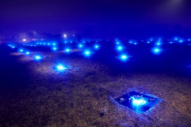 Intel 100 Drones Made World Record