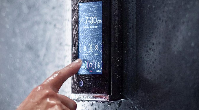 Kohl Brings Touchscreen Into The Shower, Lets You Fine Tune Your Bathing Experience