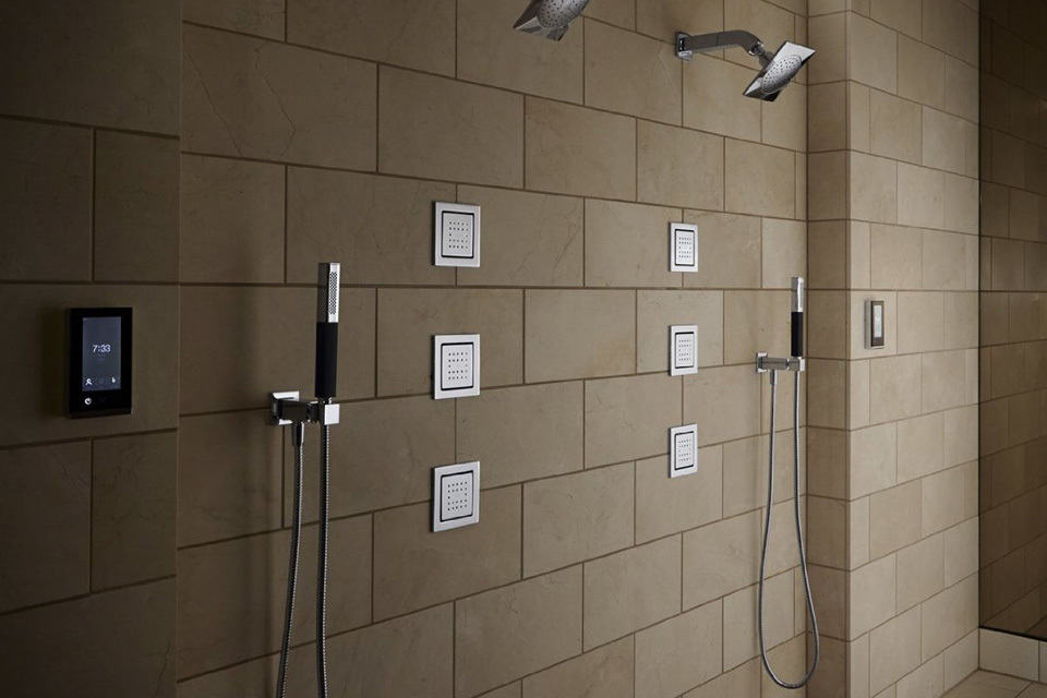 Kohl Brings Touchscreen Into The Shower Lets You Fine