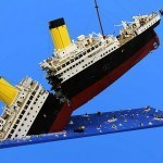 Mind Blown: Titanic's Final Moment Recreated With LEGO Bricks