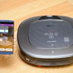 LG HOM-BOT Turbo+ Robot Vacuum Lets You Use Your Smartphone's Camera To Tell It Where To Clean
