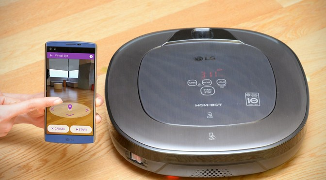 LG HOM-BOT Turbo+ Robot Vacuum Cleaner