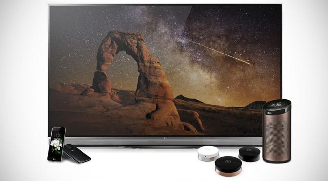 LG Unveils IoT Hub, K Series Handset and Eye-watering HDR 4K TV