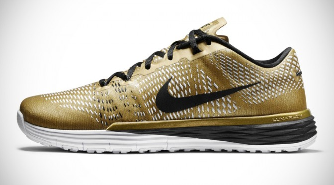 Nike Releases Limited Edition Gold Lunar Caldra To Mark Ashton Eaton's New World Record