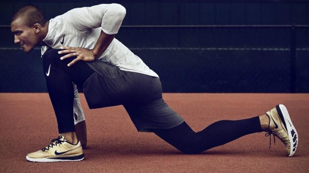 Limited Edition Gold Nike Lunar Caldra