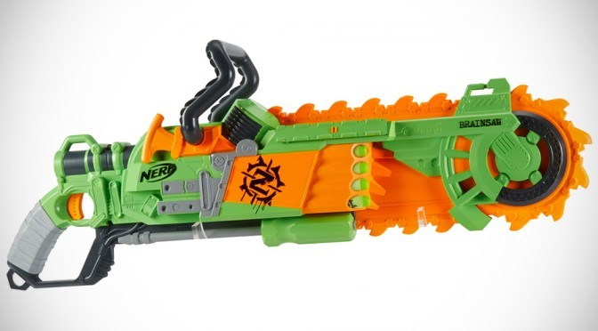 Nerf Zombie Strike Brainsaw Blaster: Zombie Slaying Starts From Young