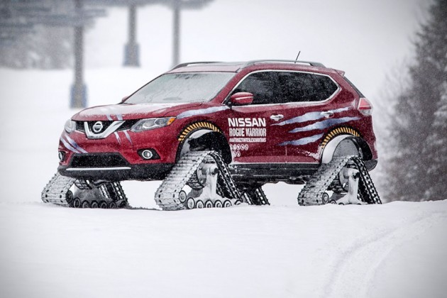 Nissan Rouge Warrior Snow Track Vehicle