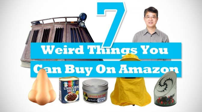 7 Weird Things You Can Buy On Amazon