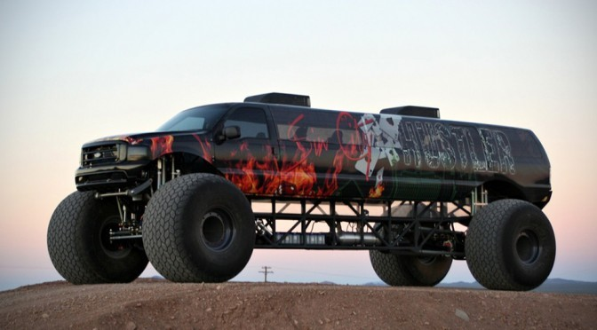 Sin City Hustler Luxury 4×4 Lets You Hit Up Your Prom, Monster Style