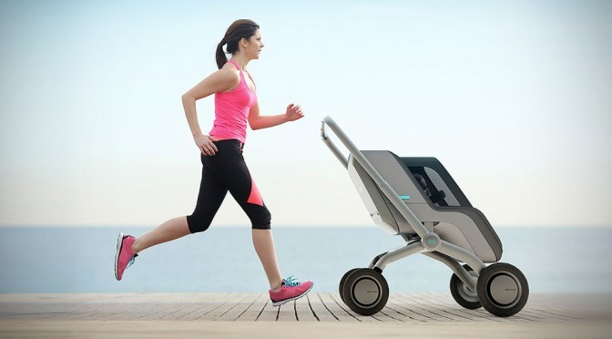 Smartbe Self-Propelled Baby Stroller