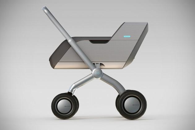 Smartbe Self-Propelled Baby Stroller