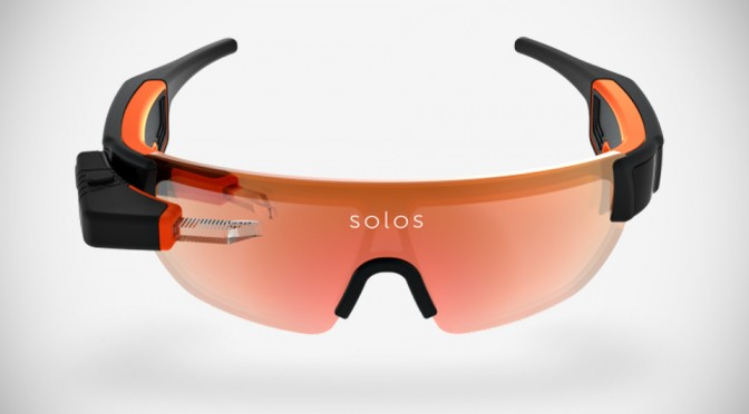 Solos Smart Cycling Eyewear Puts Cycling Metrics Before Your Eye, So You Can Keep Your Eyes On The Road