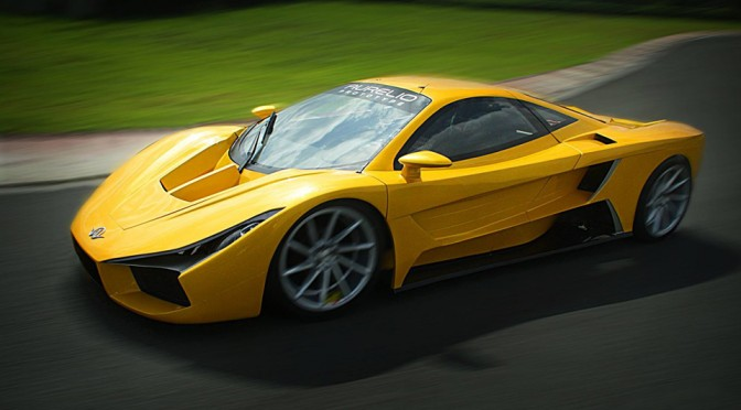 Meet The Aurelio, The First Filipino-made Exotic Supercar