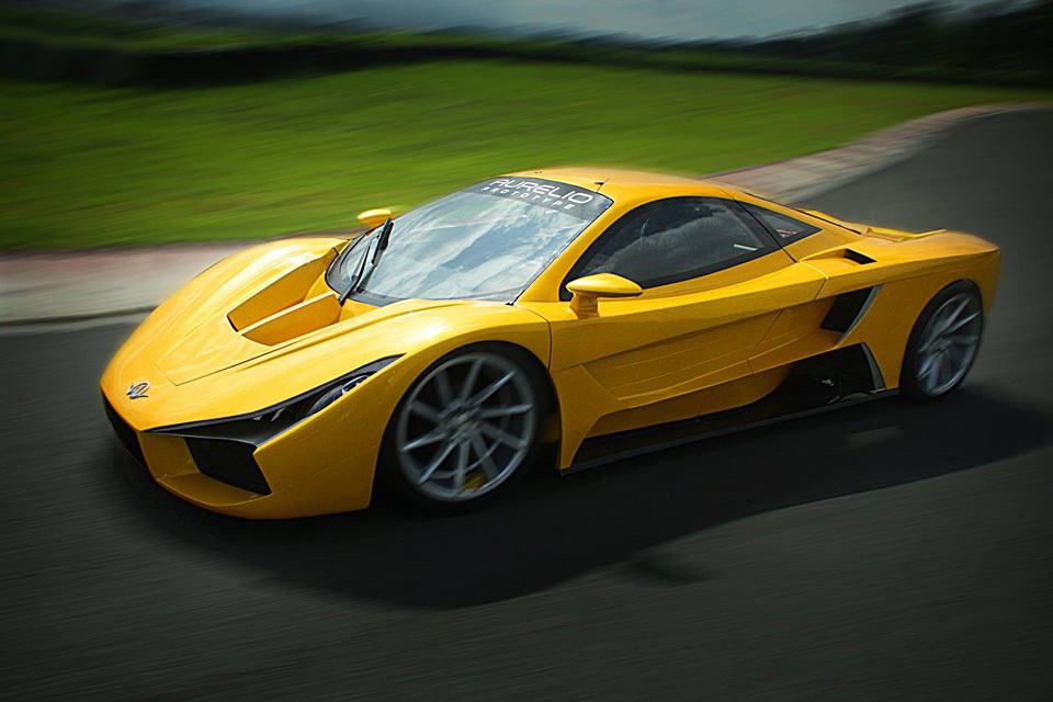 Meet The Aurelio The First Filipino Made Exotic Supercar