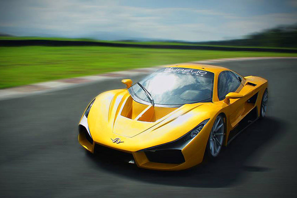 meet the aurelio  the first filipino-made exotic supercar