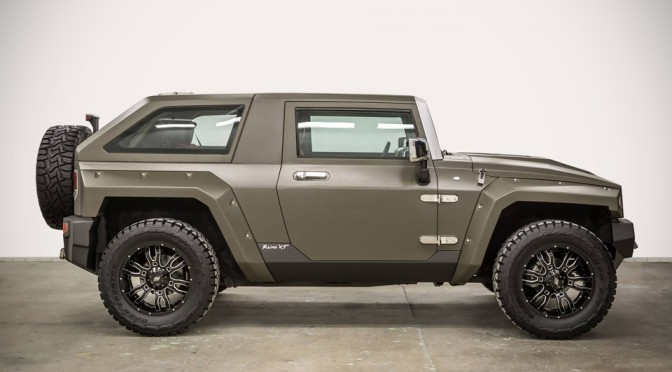 You Won T Believe This Hummer Hx Was Once A Jeep Wrangler