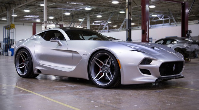 Hendrik Fisker Is Back With A New Non-Electric 745HP Luxury Supercar