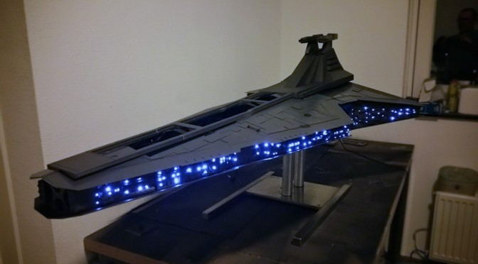 This Insanely Detailed, Ginormous Jedi Star Destroyer Is Actually A PC Case