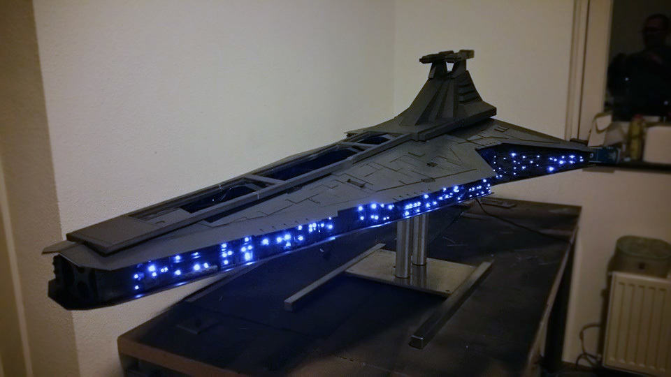This Insanely Detailed Ginormous Jedi Star Destroyer Is