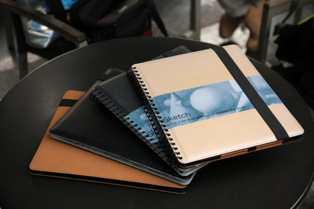 Wirebound Sketchbook iPad Pro Case by Longo