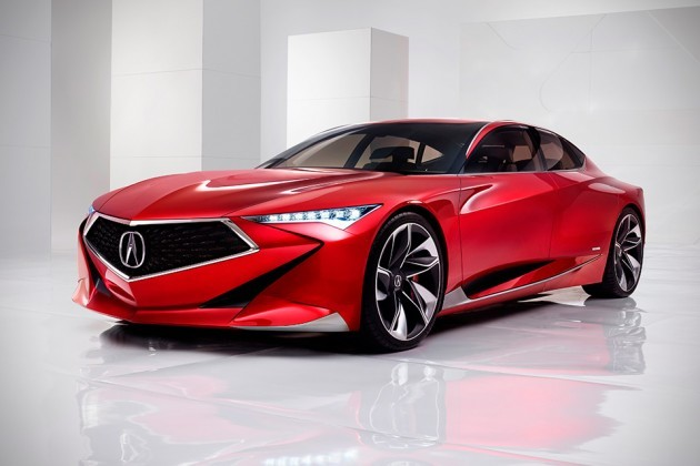 Bold Acura Precision Concept And 2017 NSX Heads To Windy City - MIKESHOUTS