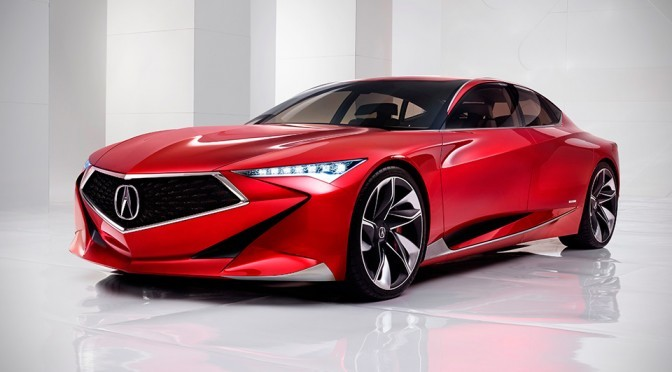 Bold Acura Precision Concept And 2017 NSX Heads To Windy City