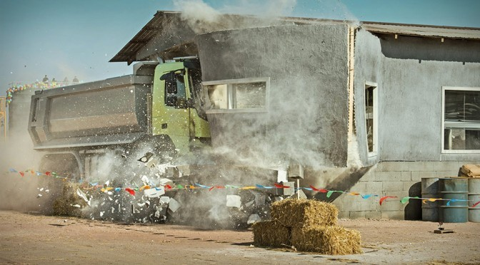 4-year-old Test Drive Volvo FMX Truck